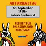 Antikriegstag 01. September 17 Uhr Kohlmarkt!